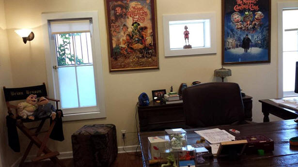 Brian Henson's Office