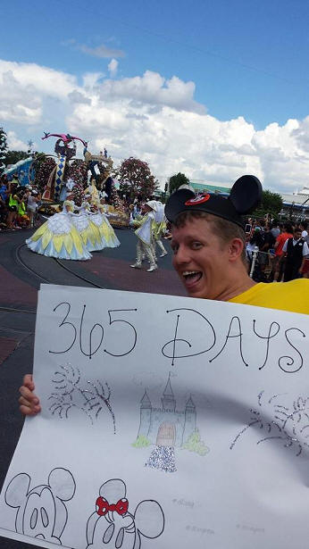 365 days at disney