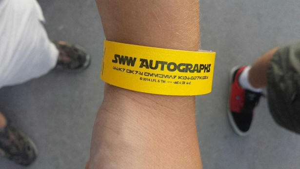 Star Wars Weekends wristband