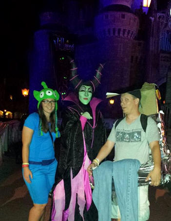Alex and Brent and Maleficent