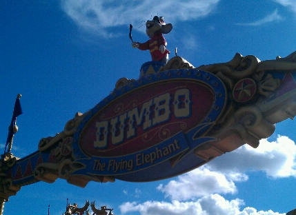 A Closer Look at Dumbo the Flying Elephant