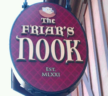 Friar's Nook at the Magic Kingdom
