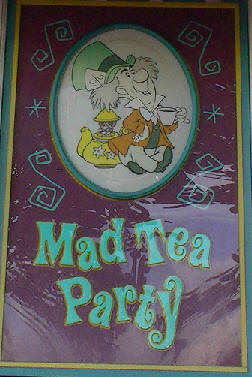 Closer Look at the Mad Tea Party in Walt Disney World