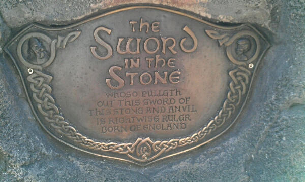 Closer Look at Sword in the Stone