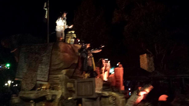 Jack Sparrow float