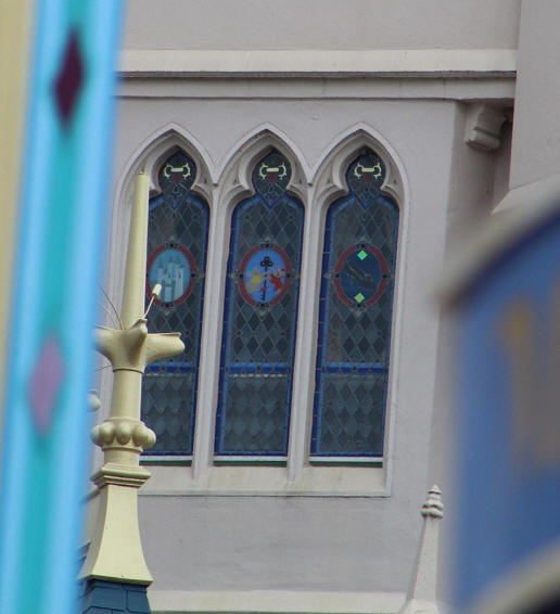 Cinderella Castle Dream Suite window