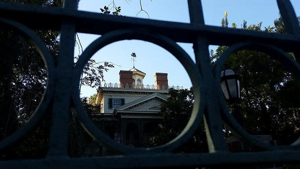 Haunted Mansion weathervane
