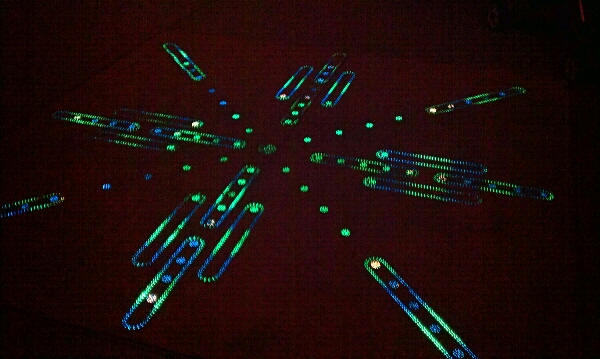 Epcot Lighted Ground