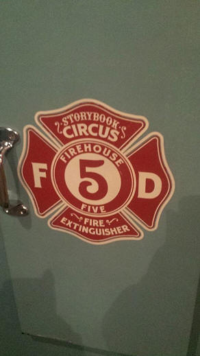 Firehouse Five Plus two fire extinguisher