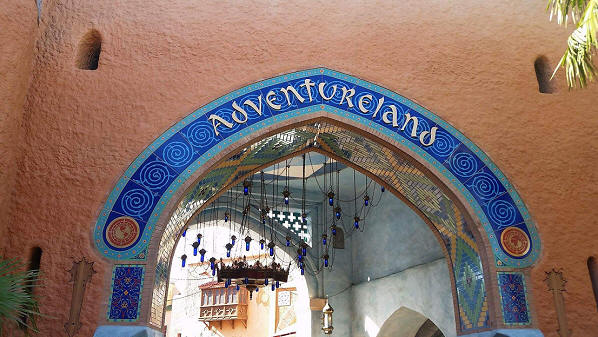 Disneyland Paris Adventureland