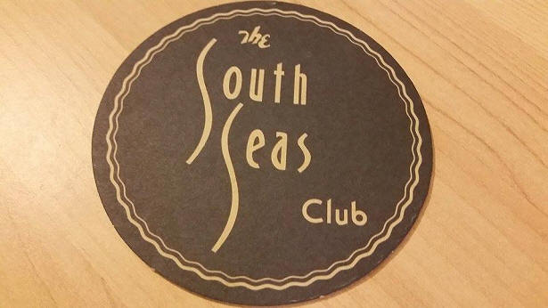 The South Seas Club Coaster