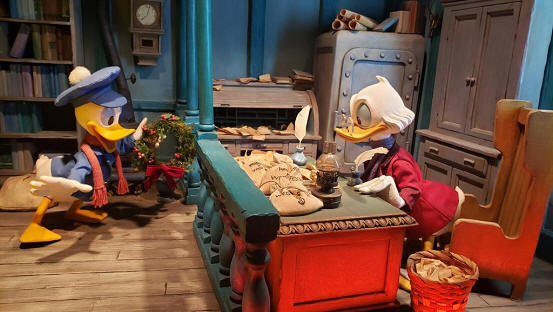 Mickey's Christmas Carol Magic Kingdom
