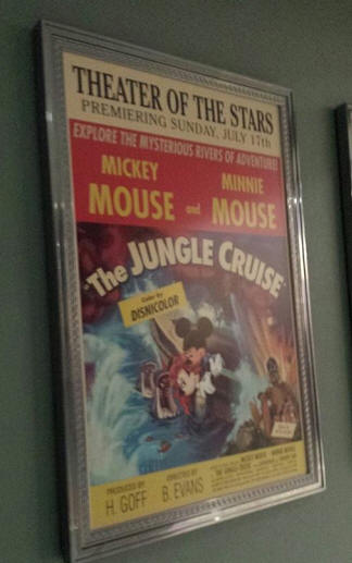 The Jungle Cruise poster