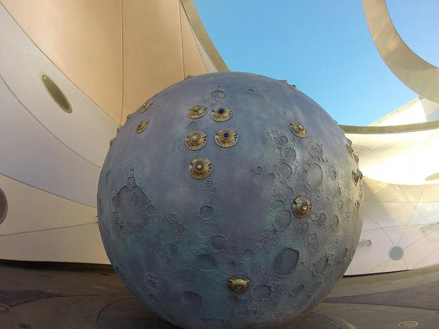Mission Space moon