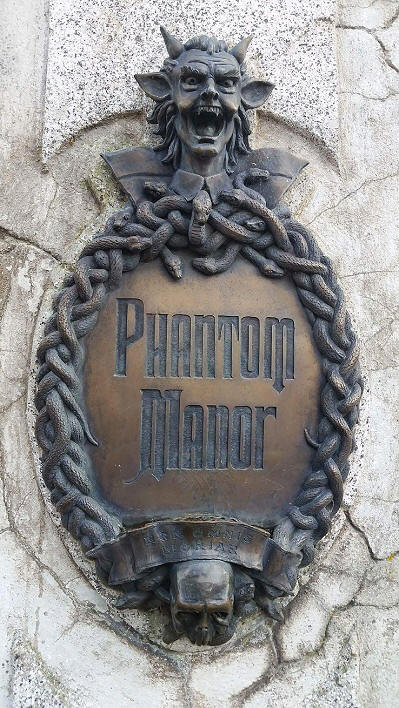 Phantom manor sign