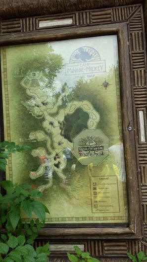 Camp Minnie-Mickey map