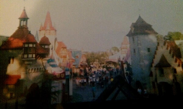 Skyway Building in Fantasyland