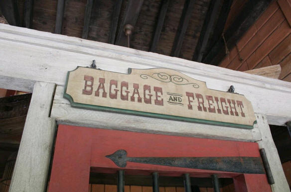 Frontierland Train Station