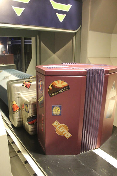 Space Mountain luggage