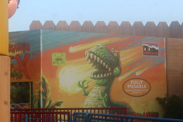 Toy Story Land rex