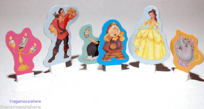 Beauty and the Beast Boardgame