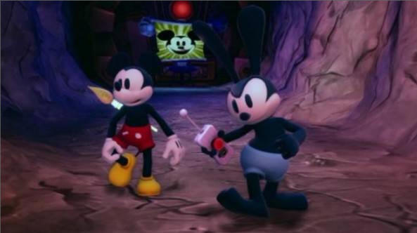 Epic Mickey - Mickey and Oswald
