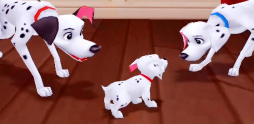 101 Dalmatians in Kingdom Hearts