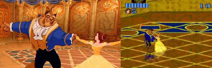 Beauty and the Beast video game