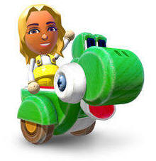 Yoshi Ride Vehicle
