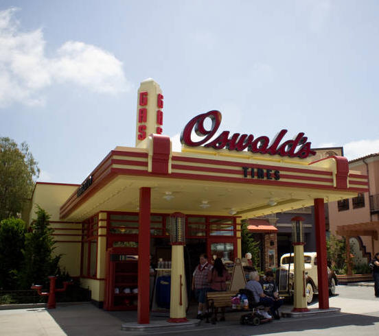 Oswald's in Disney California Adventure