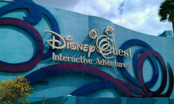 DisneyQuest in Downtown Disney