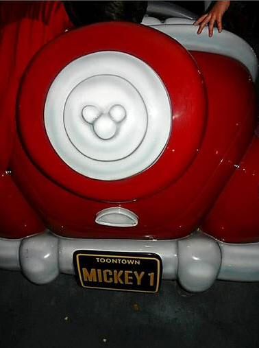 Hidden Mickey in Toontown