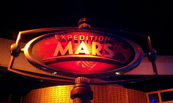 Expedition Mars in Epcot