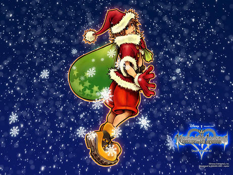 Kingdom Hearts Santa Sora