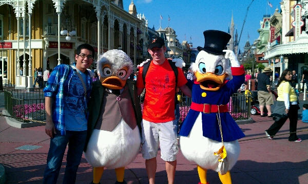 Ludwig Von Drake Meet and Greet