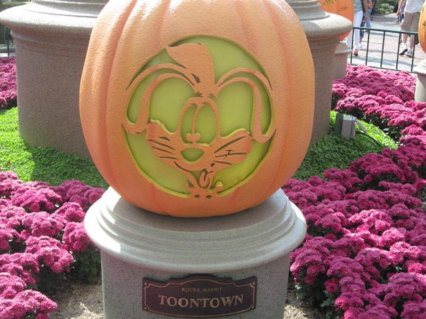 Roger Rabbit pumpkin