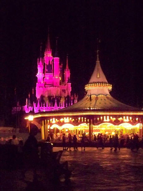 Cinderella Castle with Carousel