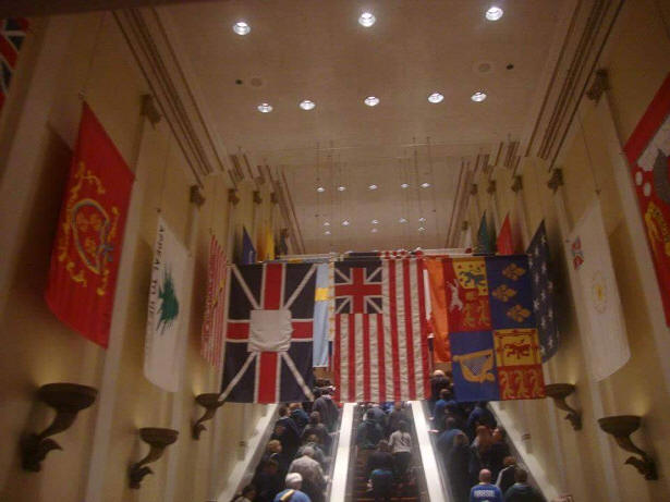 Corridor of Flags