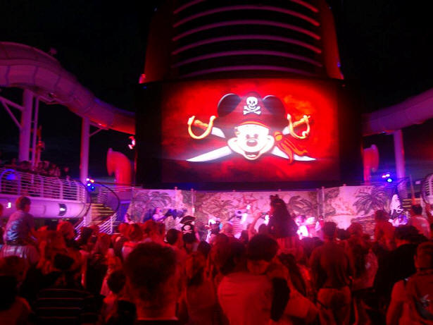Pirate night on Disney Dream