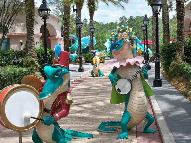 Port Orleans French Quarter Gators