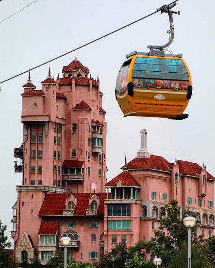 Tower of Terror and Skyliner