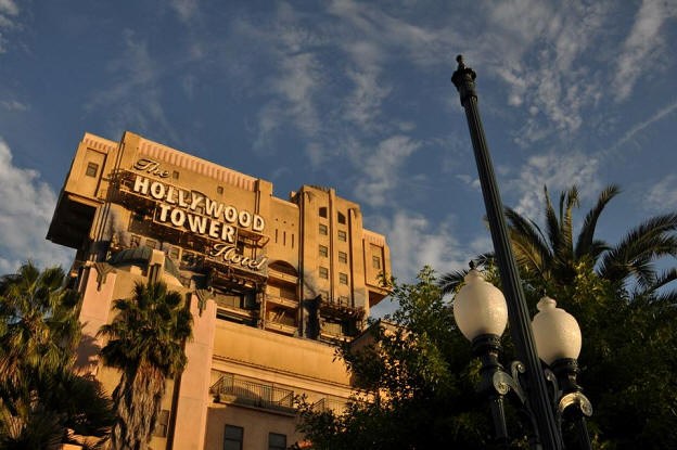 Tower of Terror in California Adventure