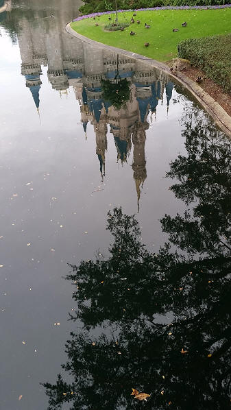 Cinderella Castle reflection