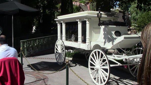 Haunted Mansion Cart