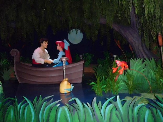 Under the Sea Voyage of the Little Mermaid