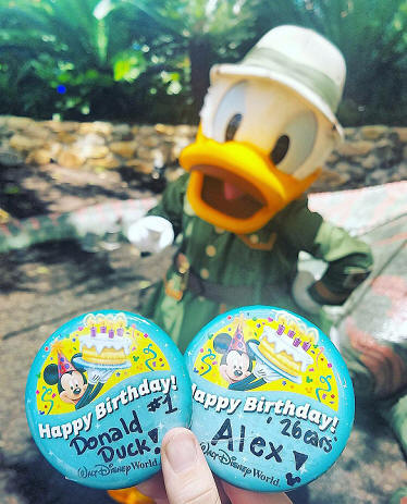 Donald's Birthday