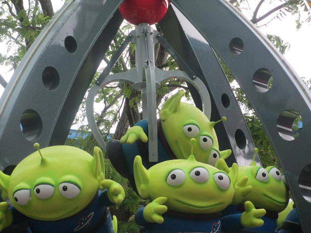 Green Aliens from Toy Story