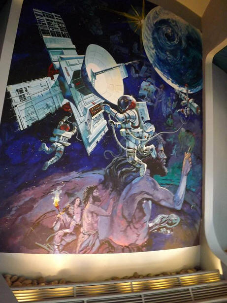 Spaceship Earth mural