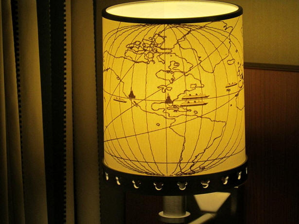 Disney Cruise Line lampshade