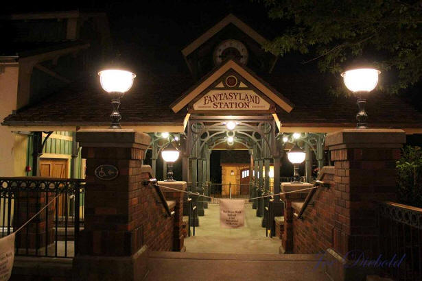 Fantasyland Train Station